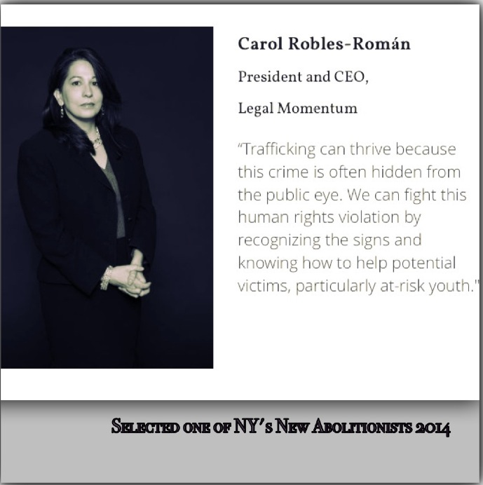 Carol Robles-Román, New Abolotionist photo