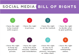 Social Media bill of rights