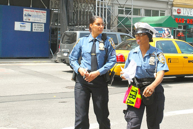 NYC Policewomen (Flickr)