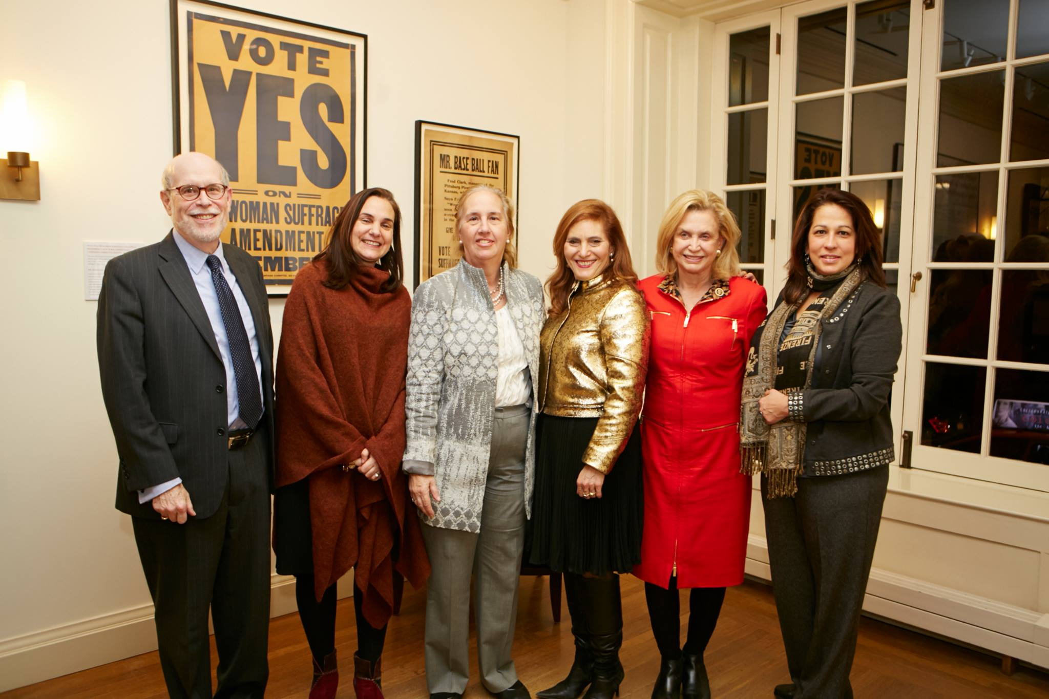 Roosevelt House exhibition opening